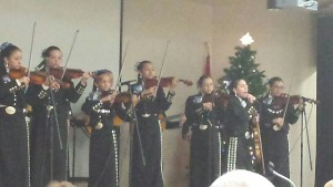 Mariachi Milagro at CVPOA Christmas party, 2015